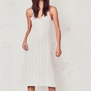 LoveShackFancy - Hand Knit Lila Slip Dress